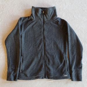 Calvin Klein Womens Performance Fleece Zip Jacket